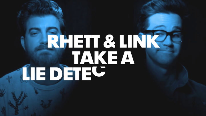 Rhett and Link Take A Lie Detector Test