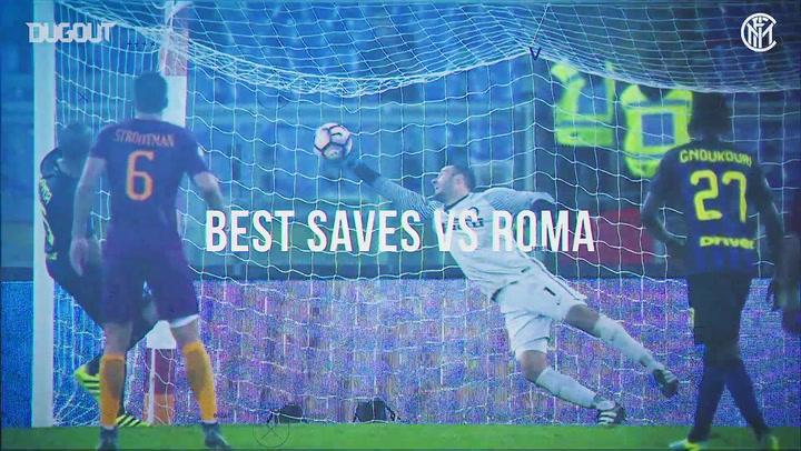 Samir Handanovič's best saves at Roma
