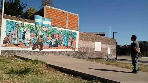 Los murales del Mercosur