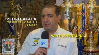 pedro Atala responde a Vargas: 'Me encanta tener a un 'tontito' que tenga tantas copas