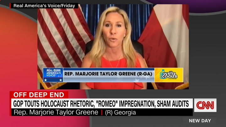 CNN anchor sickened by Marjorie Taylor Greene's Holocaust comment