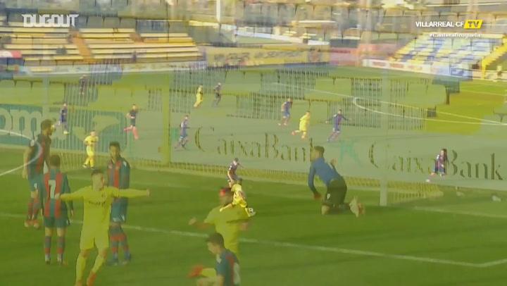 Highlights: Villarreal B 1-0 Atlético Levante