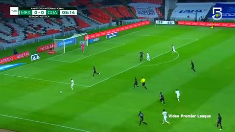 México goleó 3-0 a Guatemala en amistoso en el Azteca