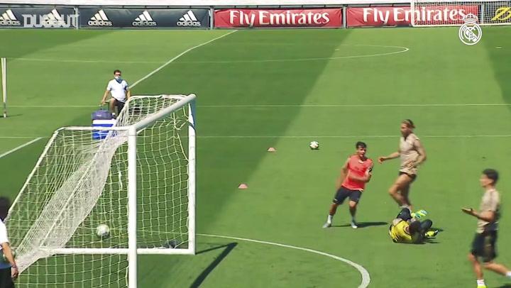 Zidane finaliza preparação para duelo entre Real e Getafe