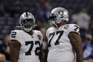 Raiders' Trent Brown Doubtful, Tyrell Williams Out Sunday Vs Packers – VIDEO