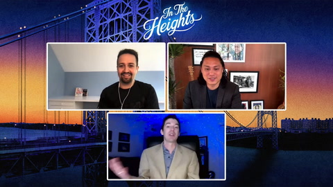 Lin-Manuel Miranda & Jon M. Chu dish on the fight to bring 'In The Heights' to the screen