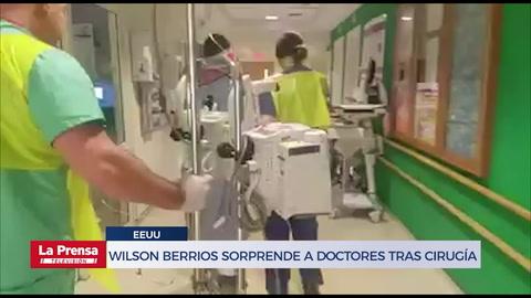 Wilson Berrios sorprende a doctores del Hospital Shriners de Bostón tras cirugía