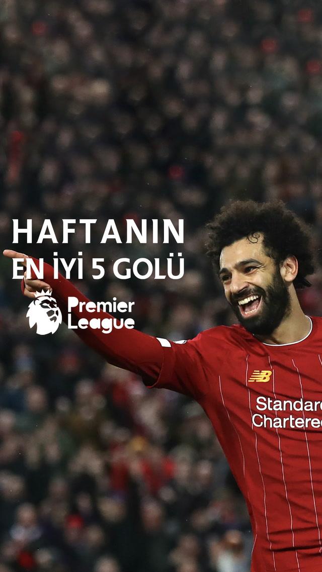 Premier Lig 14. hafta en iyi 5 gol