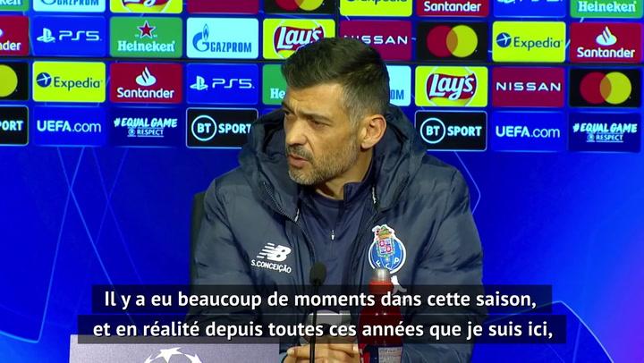 "Quarts - Conceição ""confiant"" malgré le retard de 2 buts"