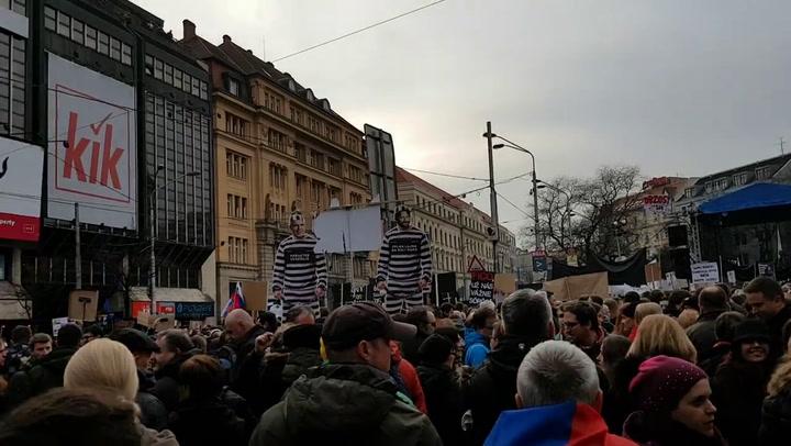 2. Pozsonyi kormányellenes tüntetés Ján Kuciak halála után