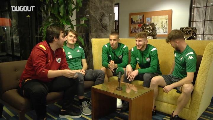 Bursaspor'un Gençleri Vampir Köylü Oynadı