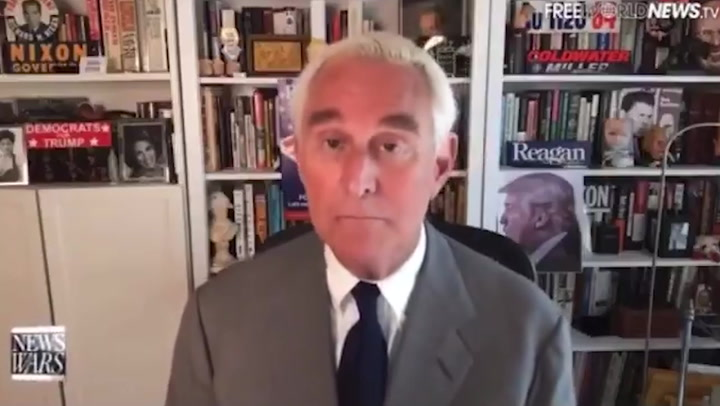 Roger Stone claims Steve Bannon blackmailed Trump to get pardon