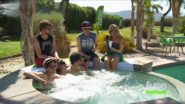 Coachella 2012: Oberhofer Take A Jacuzzi and Talk Debut Album