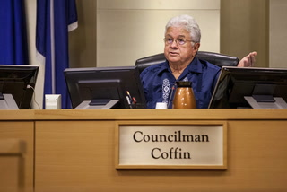Councilman Bob Coffin will not seek re-election