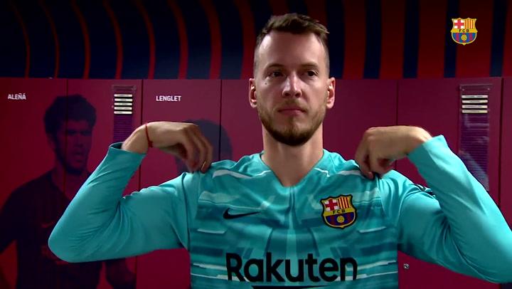 Entrevista de Barça TV con Neto