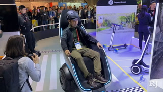 CES 2020: The scooter that will remind you of Wall-E – VIDEO