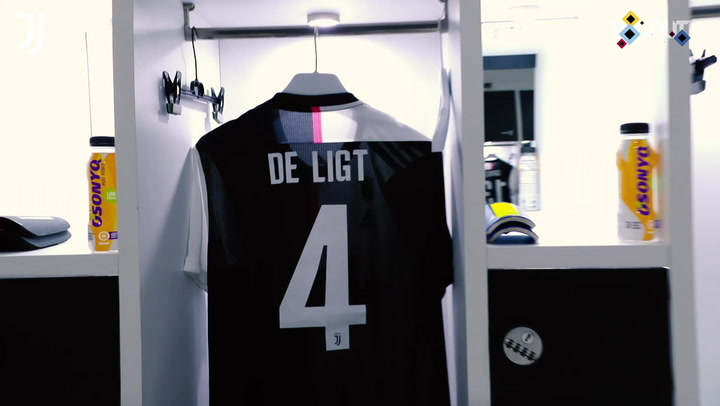 De Ligt's debut season at Juventus