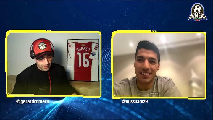 Entrevista completa de Gerard Romero a Luis Suárez