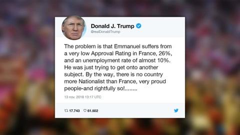 Arremetida de Trump contra Macron enfría relación entre ambos