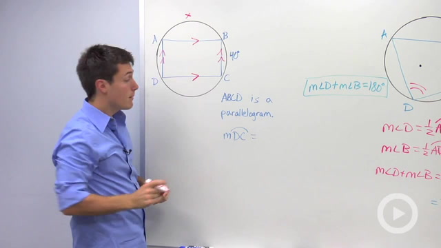 Cyclic Quadrilaterals and Parallel Lines in Circles - Problem 2