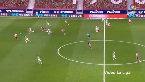 Atlético de Madrid 2-0 Bétiz (La Liga)
