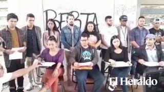 Estudiantes de la UNAH piden instalar juicio político con firmas