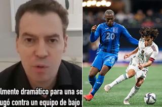 Periodista mexicano André Marín se suelta: ''México no disparó a portería en todo el partido ante un equipo de bajo nivel como lo es Honduras''
