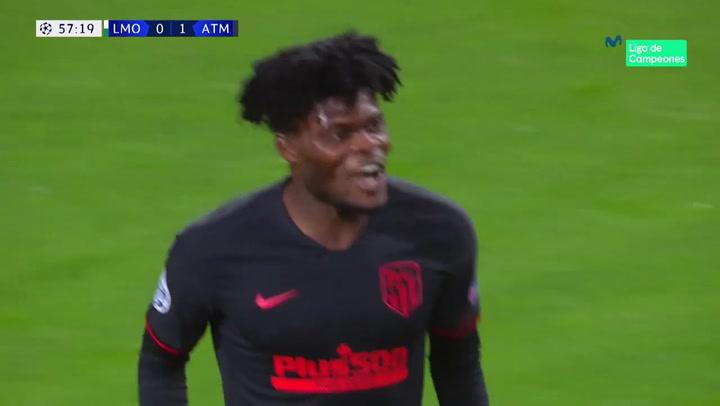 Champions League: Lokomotiv-Atlético Thomas Partey marcó el segundo tanto Atlético
