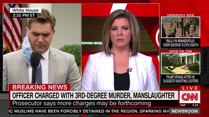 CNN's Acosta: Trump's Protest Tweet Obviously 'Incendiary Outrageous and Just Offensive'