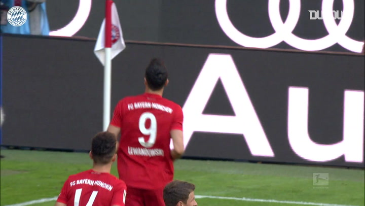 Bayern battle hard for victory vs Union Berlin