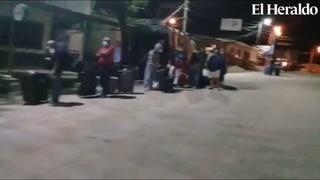 Continúa el ingreso de hondureños por la aduana de Las Manos