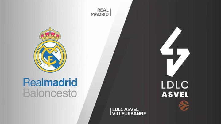 Euroliga: Real Madrid - LDLC ASVEL Villeurbanne