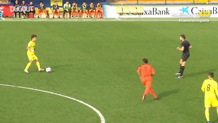 Highlights: Villarreal C 4-1 Vilamarxant CF