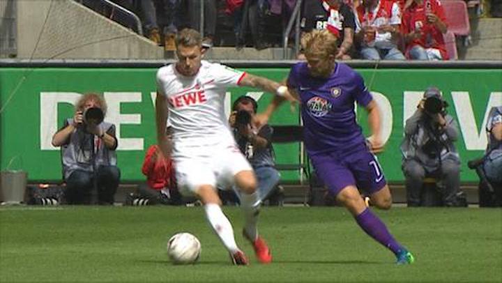 1. FC Köln - FC Erzgebirge Aue 1. - 45. (2018-2019)