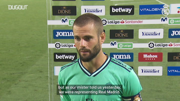 "Nacho: ""The team has done  a spectacular job"""