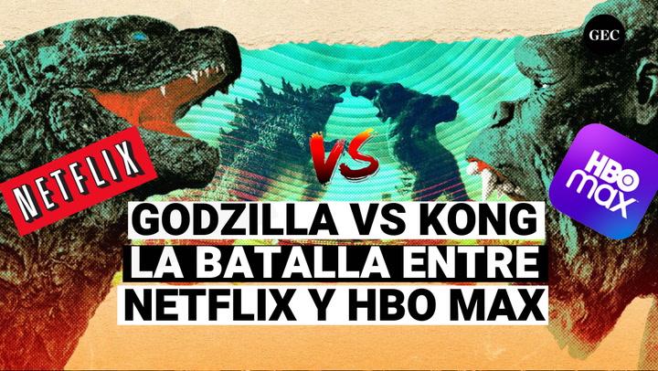 Godzilla Vs Kong: La batalla real entre Netflix y Hbo Max por 200 millones de dólares