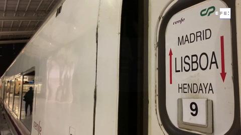 Queda en el limbo el tren que une Madrid y Lisboa