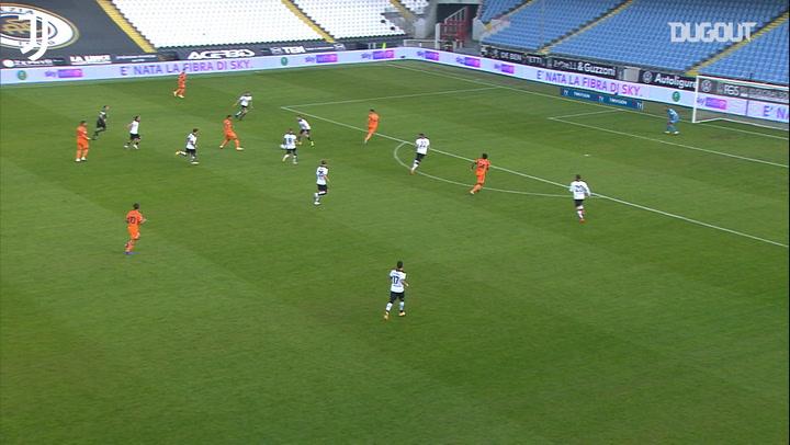 Weston McKennie's first Juventus assist