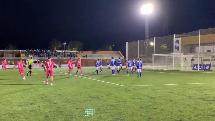 El gol de Cortés que dio al Llagostera la Copa RFEF