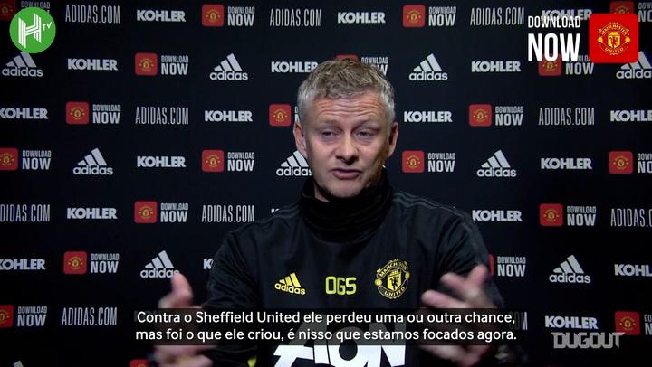 """Solskjaer ignora jejum de gols de Rashford: """"vai voltar a marcar"""""""