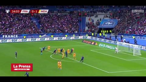 Francia 2-1 Moldavia (Eliminatoria Eurocopa 2020)