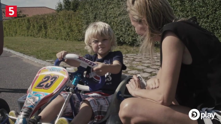 Magnussens søn får gokart: - Det har en tendens til at tage overhånd