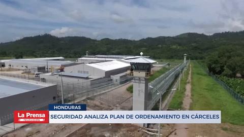 Seguridad analiza plan de ordenamiento en cárceles
