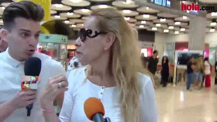 Rosa Benito regresa de 'Supervivientes': 'He visto muy bien a Amador'