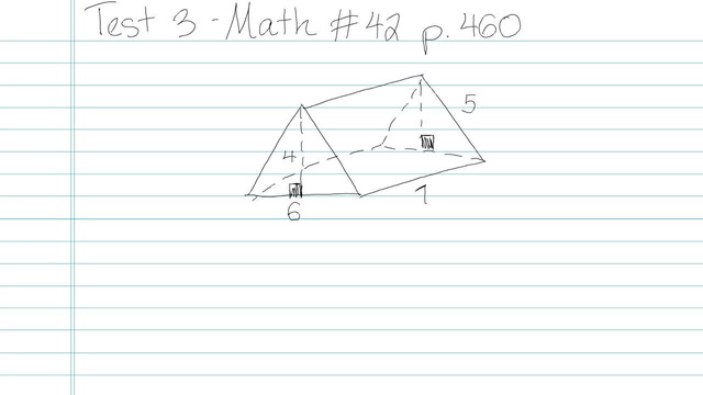 Test 3 - Math - Question 42