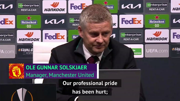 Solskjaer insists United have learned lessons from Spurs thrashing