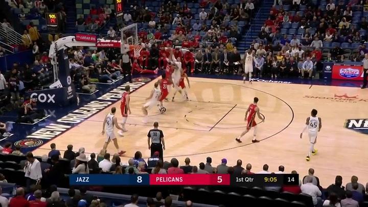 Brandon Ingram jugador destacado de la jornada de la NBA (16/01/2019)