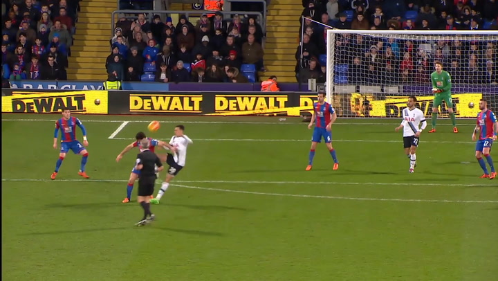Spurs' Top Five Goals Vs Palace