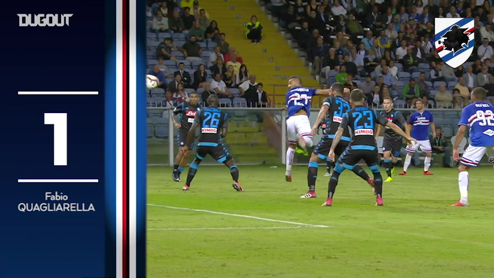 Sampdoria's Top Five Goals Of 2018