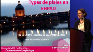 Types de plaie en EHPAD